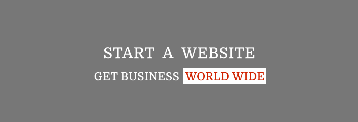 Start Website get business worldwide